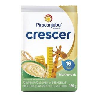Cereal Infantil Piracanjuba Crescer Multicereais 180g Pouch