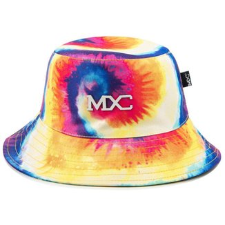 Chapéu Bucket Hat MXC BRASIL Estampado Psicodélico Tie Dye