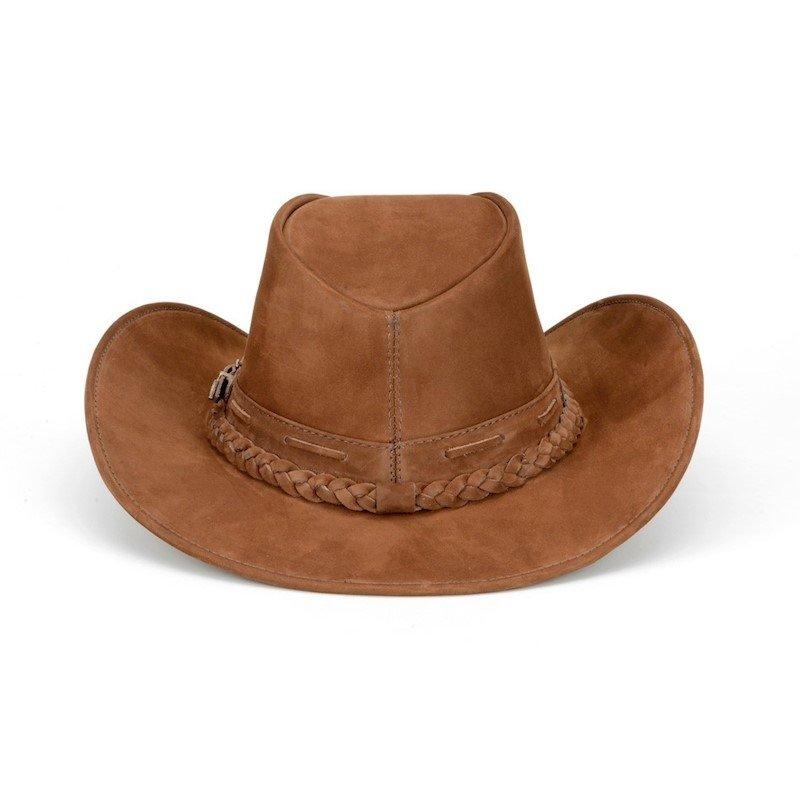 Chapeu Capelli Texano Liso - Marrom