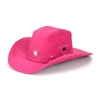 Chapéu em Couro Capelli Country Americano Estrela
