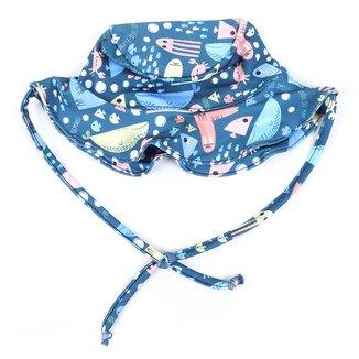 Chapéu Infantil Kamylus C/ Amarração Proteção UV 50+ Masculino