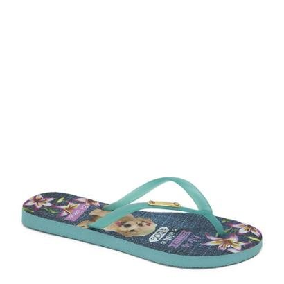 Chinelo Be Forever By Rafitthy Poodle Feminino