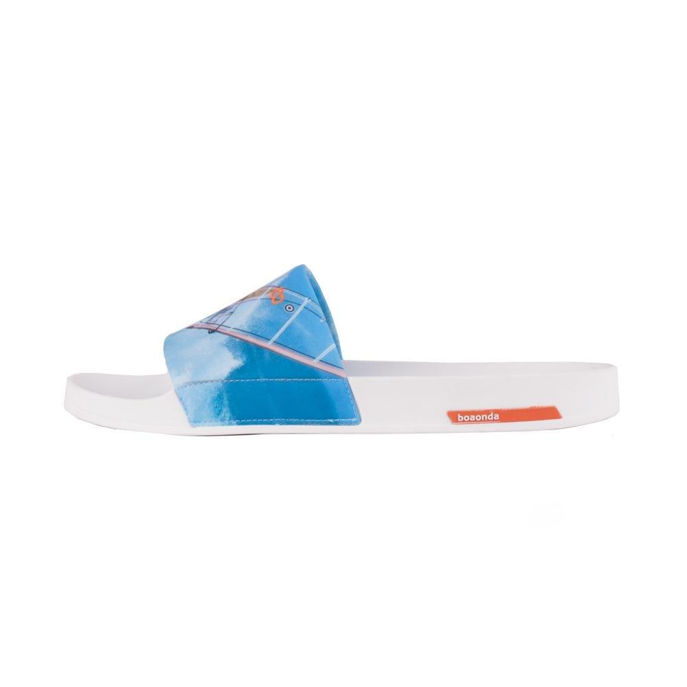 Classic Capri Azul e Onda Branco Boa Chinelo Boa Chinelo Windsurf Onda XYq4w4v