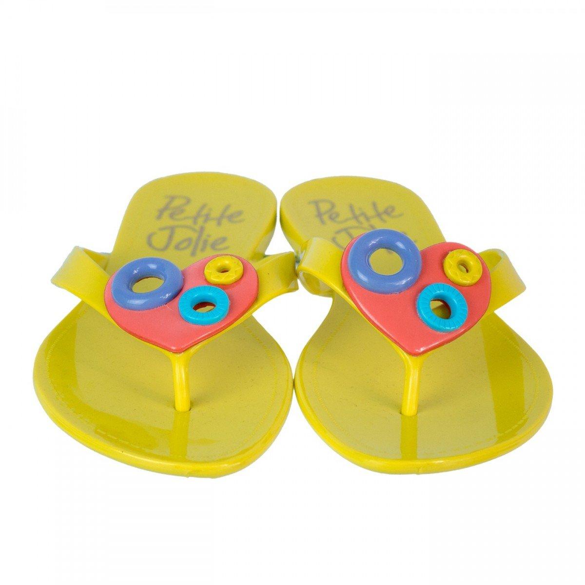 Amarelo Pvc Feminino Chinelo Chinelo Feminino Jolie Pj1440 Petite Petite RFq8f4w