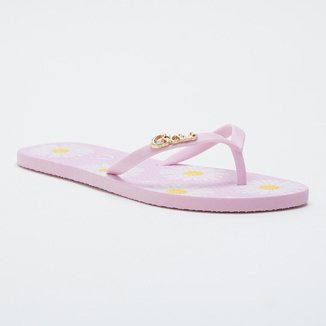 Chinelo Flat Margaridas CS Club Feminino