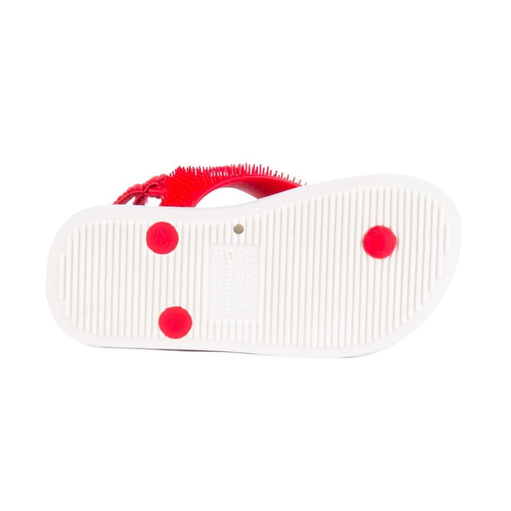 Chinelo Branco Chinelo Baby Ipanema Vermelho Grendene Fluffy Grendene e Ipanema q04wFdEE