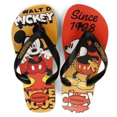 Chinelo Havaianas Estampa Mickey