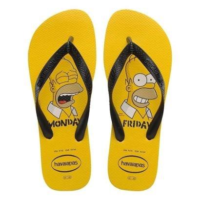 Chinelo Havaianas Simpsons Masculino