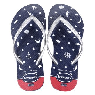 Chinelo Havaianas Slim Nautical