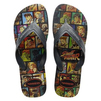 Chinelo Havaianas Street Figther