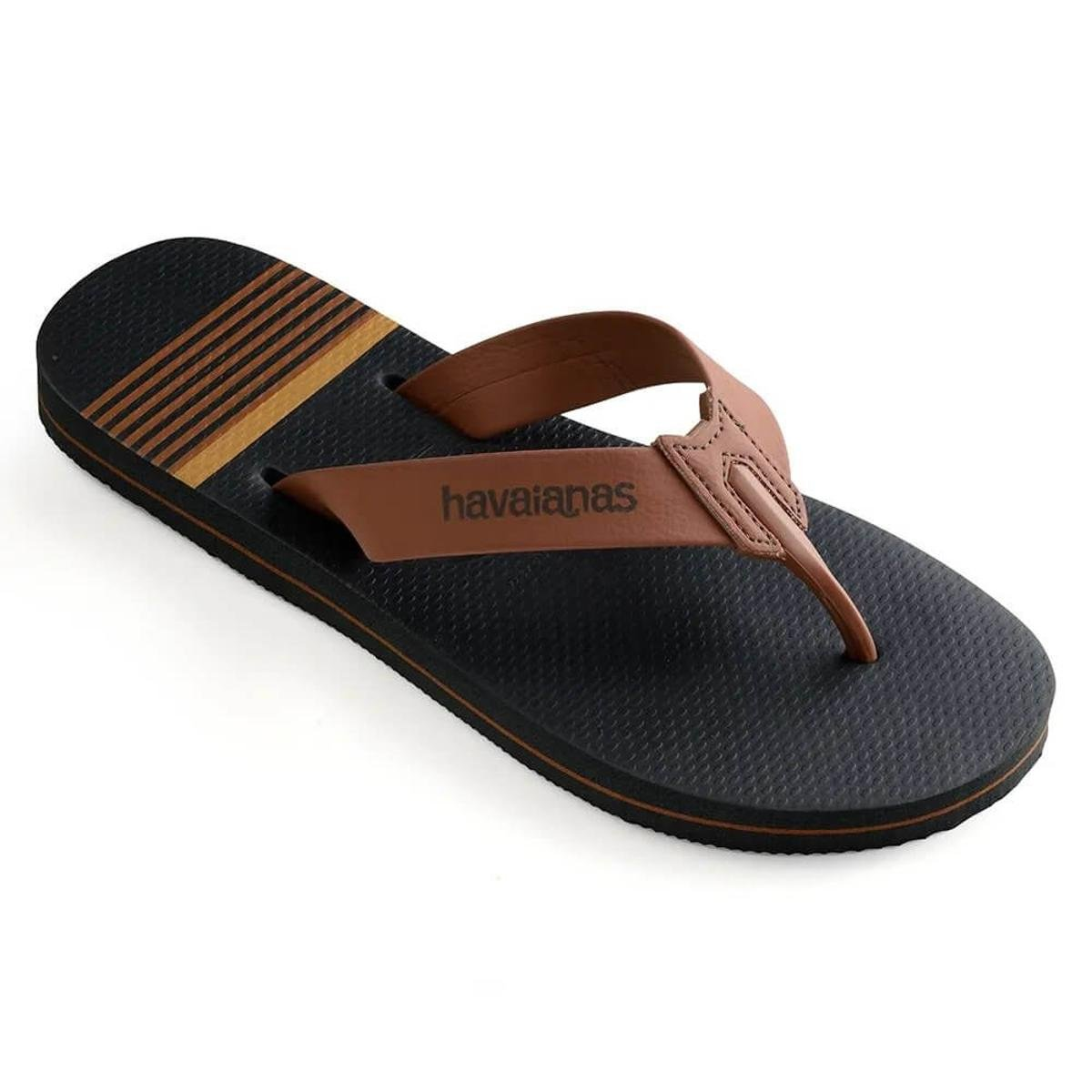Chinelo Havaianas Urban Craft Masculino - Marrom e Grafite