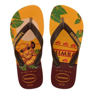 Chinelo Infantil Havaianas Kids Lion King Simba