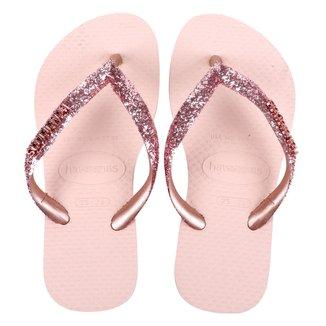 Chinelo Infantil Havaianas Slim Glitter II Feminino