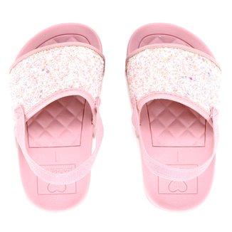 Chinelo Infantil Molekinha Glitter Feminino