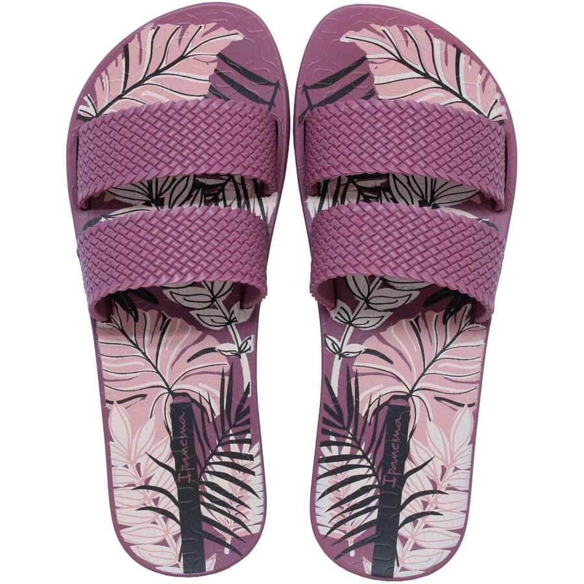 Ipanema City Bordô Chinelo Chinelo Feminino Ipanema Printy qRnE86xp