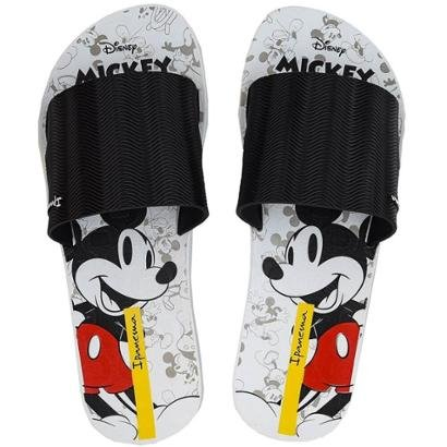 Chinelo Ipanema Disney Mickey Slide Feminino