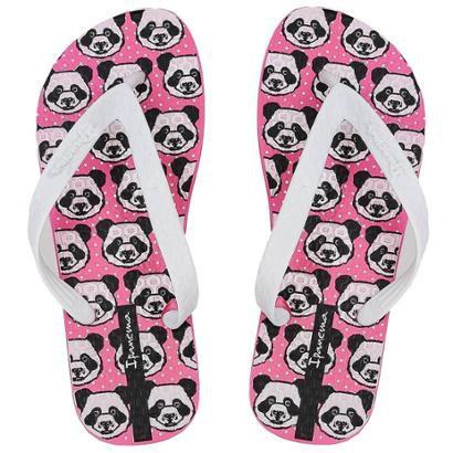 Chinelo Ipanema Next Panda Feminino-Feminino