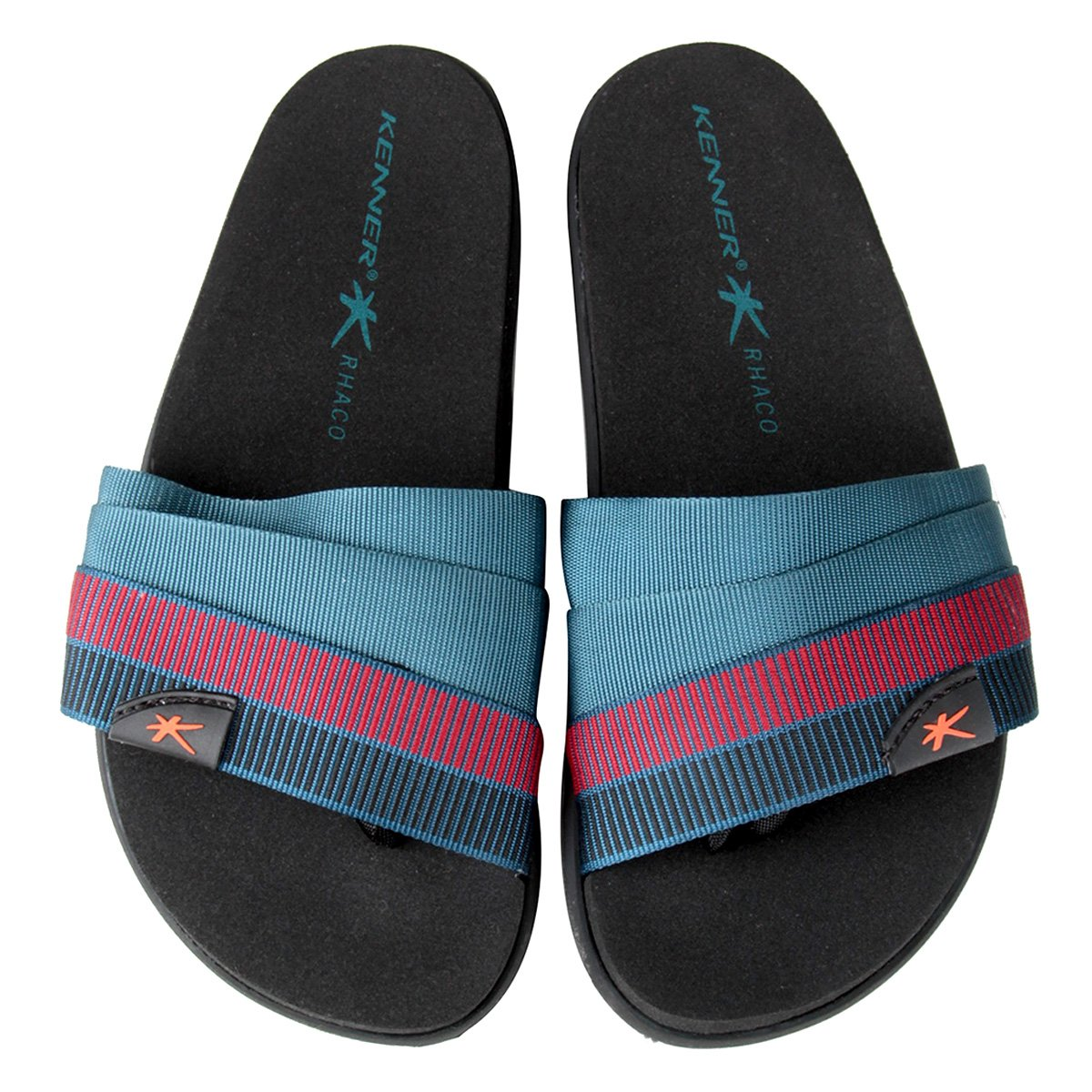 5913b8c3b7 Chinelo Kenner Rhaco S- On Hold Double Drop Masculino - Preto - Compre  Agora