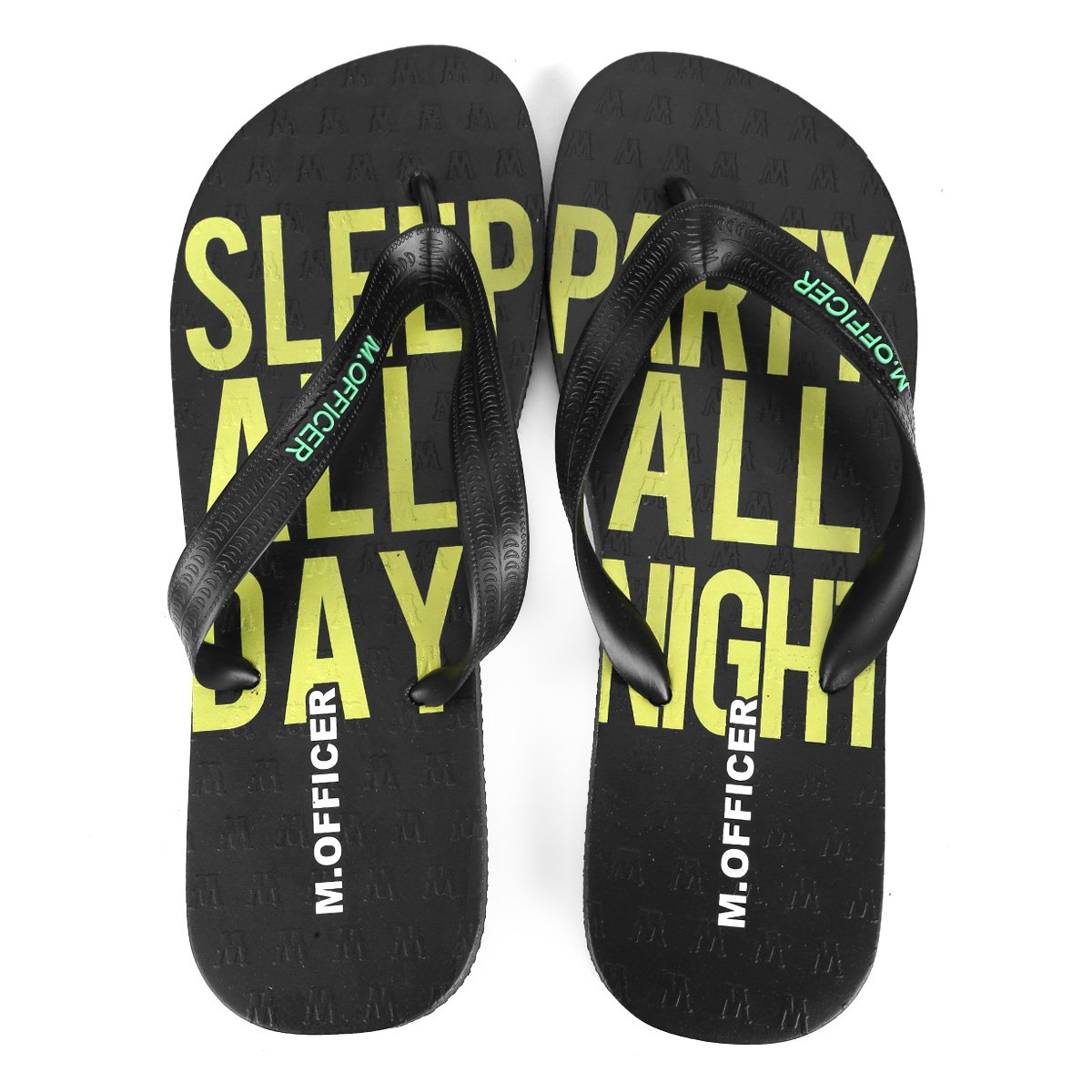 Day Chinelo Preto Masculina Party Night Officer M Sleep All All wIgqfPInC