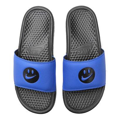 Chinelo Nike Benassi Jdi Print Carinha Masculino