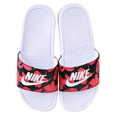 Chinelo Nike Benassi Jdi Print Tropical Masculino