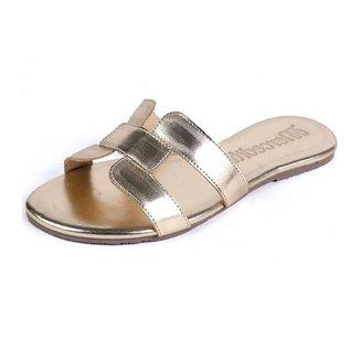 Chinelo Rasteira Mercedita Shoes Estampa Croco Extra Macia Feminino