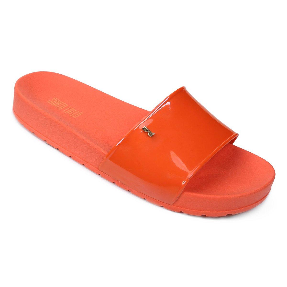 Flip Coral Chinelo Chinelo Santa Lolla Feminino Flop Slide Flip Slide Feminino Lolla Santa Coral Flop PZqw1TCP