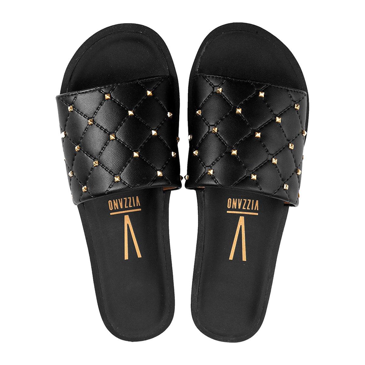 683e359fe Chinelo Vizzano Slide Spikes Feminino - Compre Agora