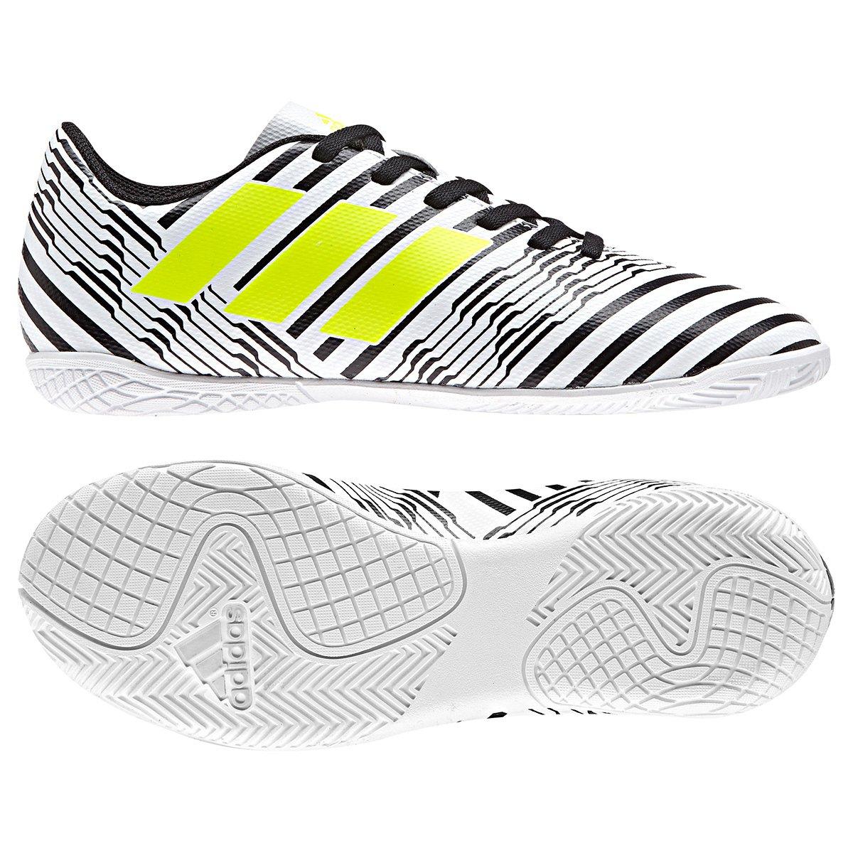 7708af697e Chuteira Futsal Infantil Adidas Nemeziz 17.4 IN - Compre Agora