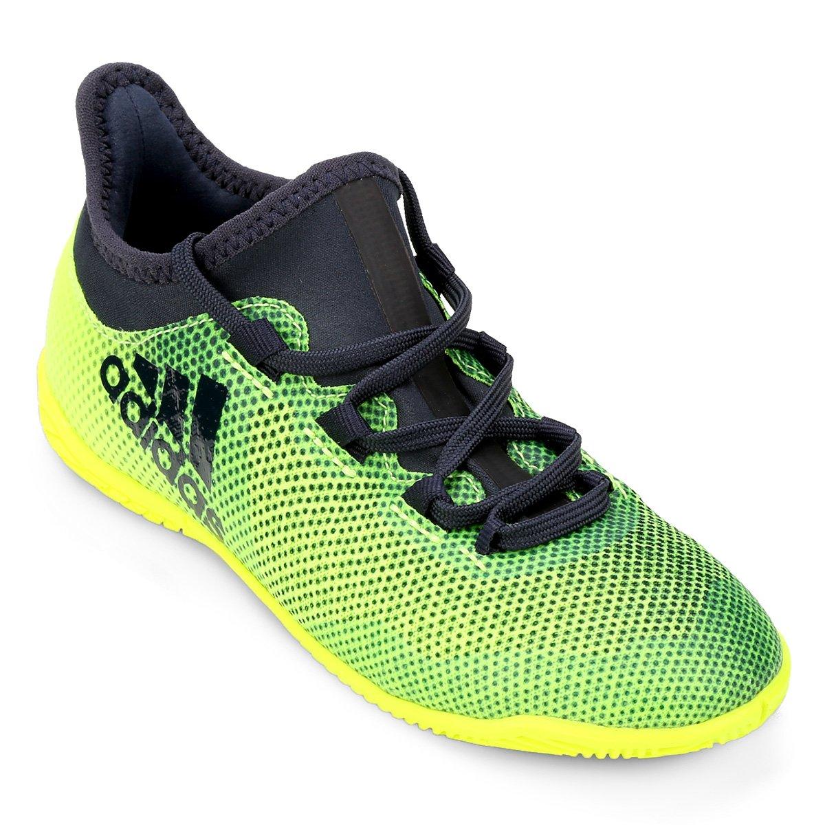 3c67d18637 Chuteira Futsal Infantil Adidas X 17.3 IN
