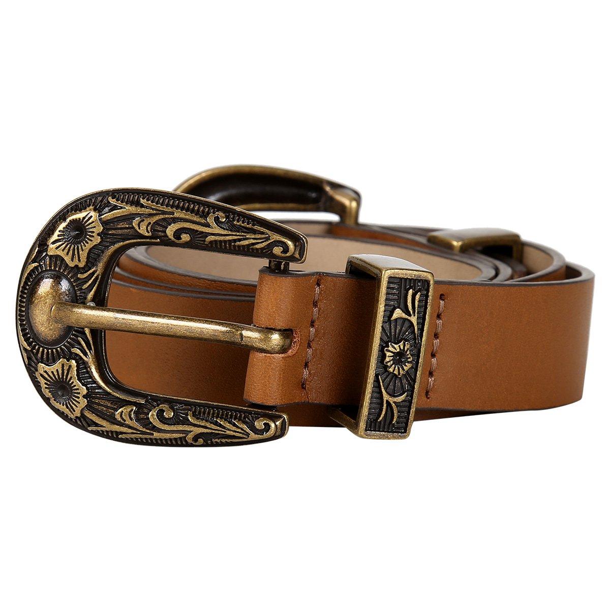 19519e4e6231f Cinto Couro Shoestock Fivela Dupla Feminino - Compre Agora   Zattini