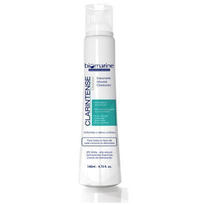Clarintense Cleanser Biomarine - Sabonete Mousse Clareador 140ml Nuv & Ruche