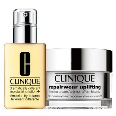 Clinique Gel Hidratante + Firmador Facial Kit - Dramatically Different Moisturizing Gel + Repairwear