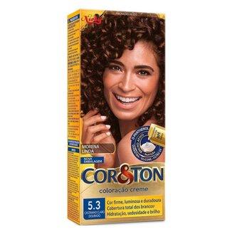Coloração Niely Cor&Ton - Tons Castanhos 5.3 Castanho Claro Dourado