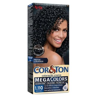 Coloração Niely Cor&Ton - Tons Escuros 1.110 Preto Onix