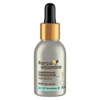 Concentrado Fortalecedor Vitamina E Força Vitamina 30ml