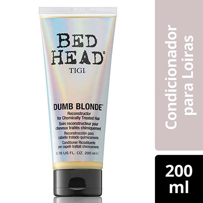 Condicionador Bed Head Dumb Blonde Reconstrução 200Ml-Feminino