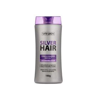 Condicionador Desamarelador Loiro Silver Hair 190g Vini Lady