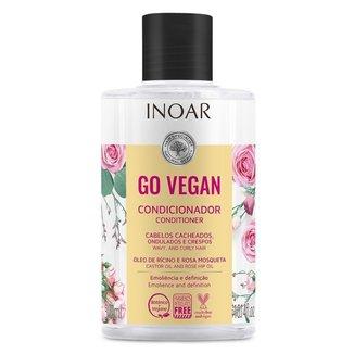Condicionador Inoar Go Vegan Cachos - 300ml