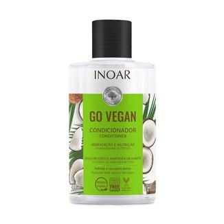 Condicionador Inoar Go Vegan Hidratação e Nutrição - 300ml
