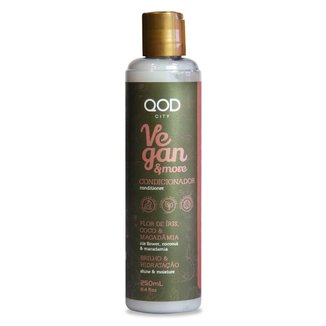Condicionador QOD City Vegan & More 250ML