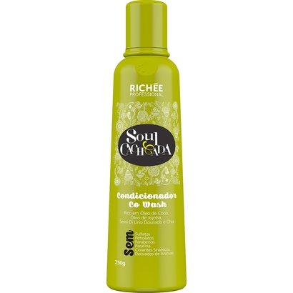 Condicionador Richée Soul Cacheada Co Wash 250g