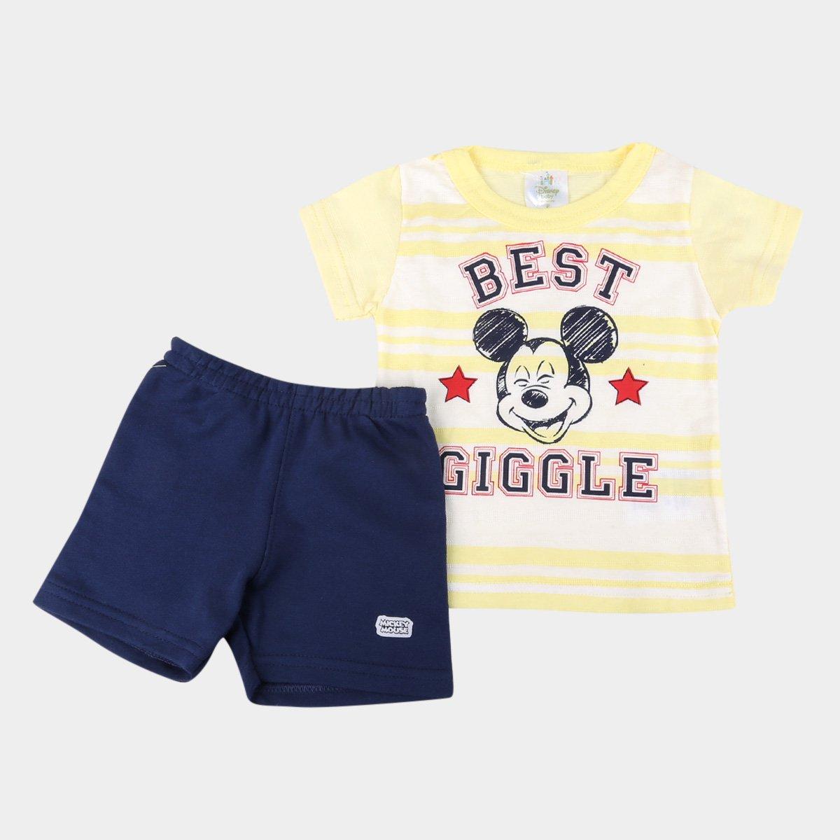 Conjunto Bebê Marlan Disney