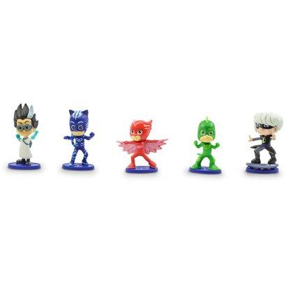 Conjunto de 5 Figuras - 08 cm - PJ Masks - DTC