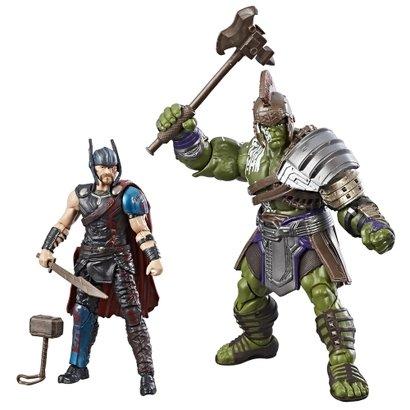 Conjunto de Bonecos - 10 Cm - Marvel - Marvel Legends - Thor Ragnarok - Thor e Hulk - Hasbro