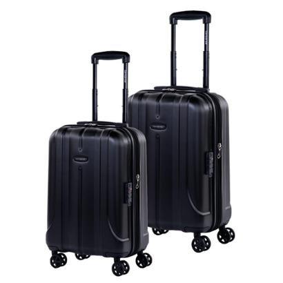 Conjunto de Malas de Viagem TSA 2Pcs P/M Expansível em Policarbonato SAMSONITE Fiero Cadeado