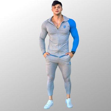 Conjunto De Moletinho Confort Skin Masculino PM Sports - Masculino