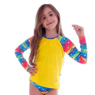 Conjunto de Proteção UV Infantil Love Cecí