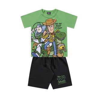 Conjunto Infantil Bebê Toy Story Fakini - AZUL - 3