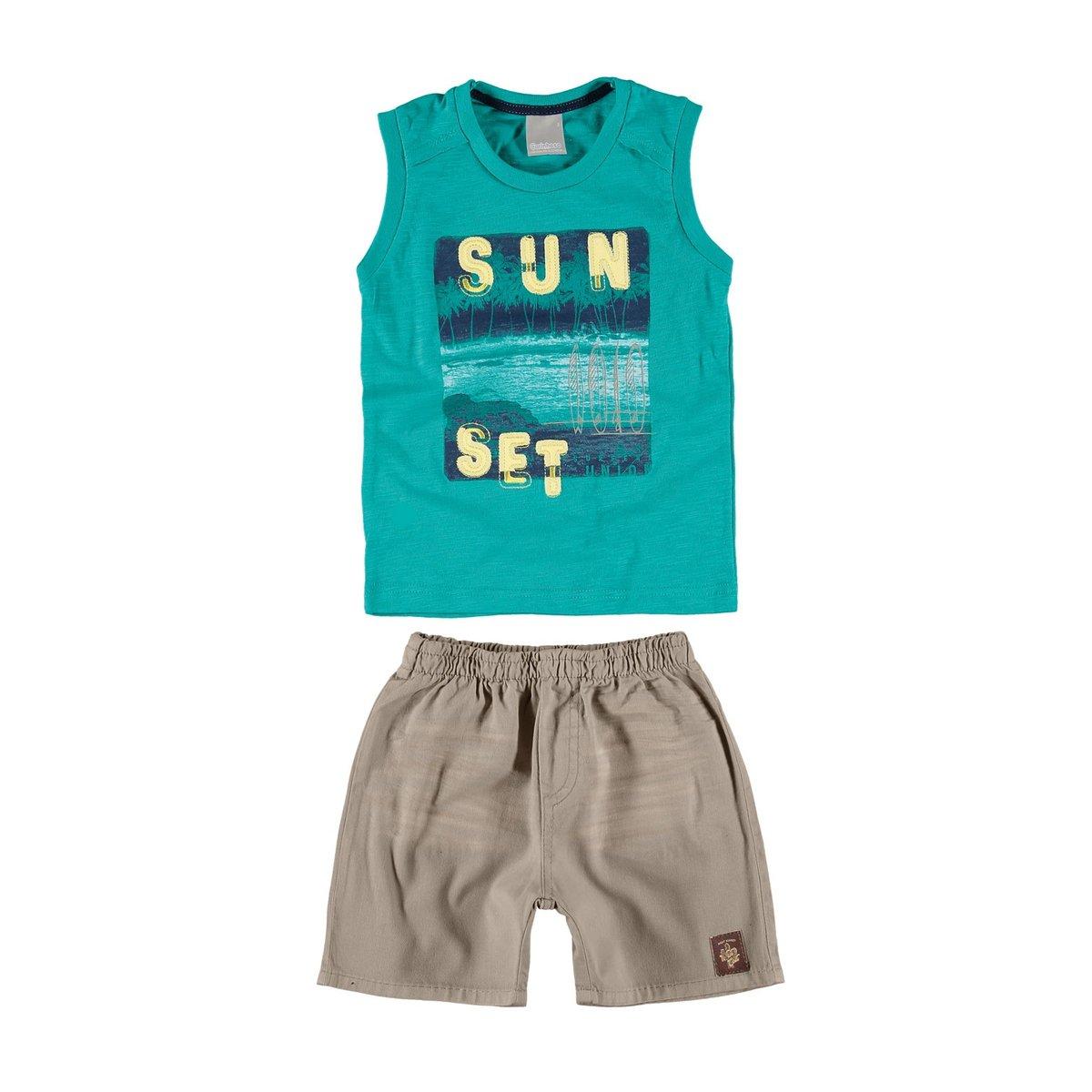 ba51c4095c Conjunto infantil de verão Carinhoso - Compre Agora